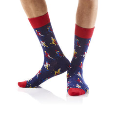 No Pucks Given: Men's Crew Socks - Yo Sox Canada