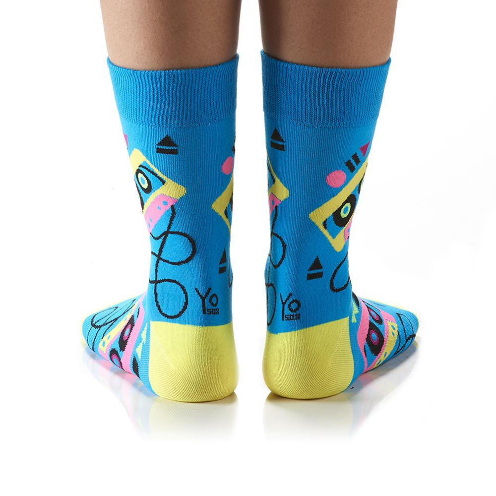 Mix Tape: Women's Crew Socks - Yo Sox Canada