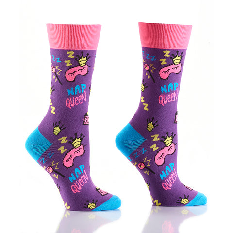 Nap Queen: Women's Crew Socks