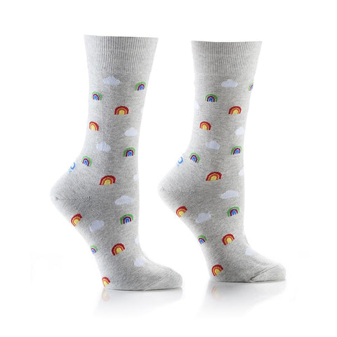 Teeny Tiny Rainbows: Women's Crew Socks