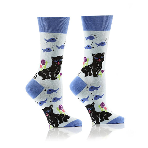 Catfish: Women's Crew Socks - Yo Sox Canada