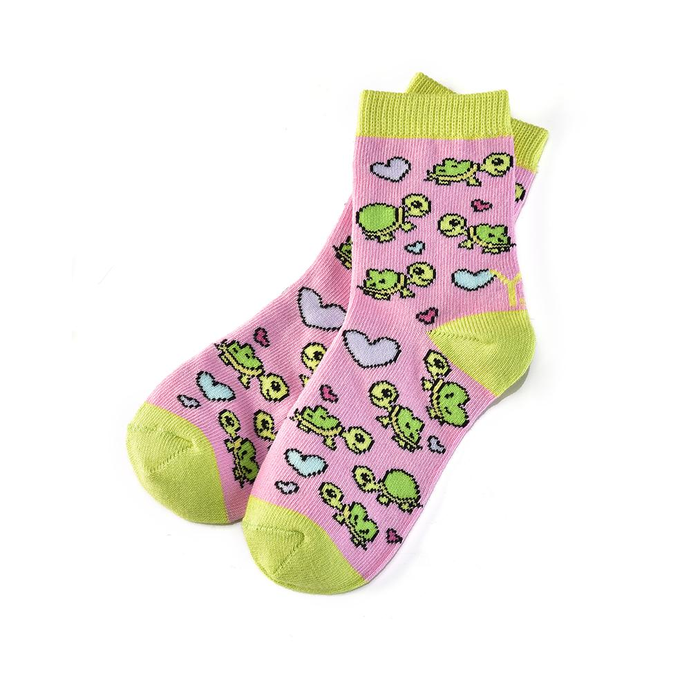 Turtley Awesome: Kids Socks (Age 3-6)