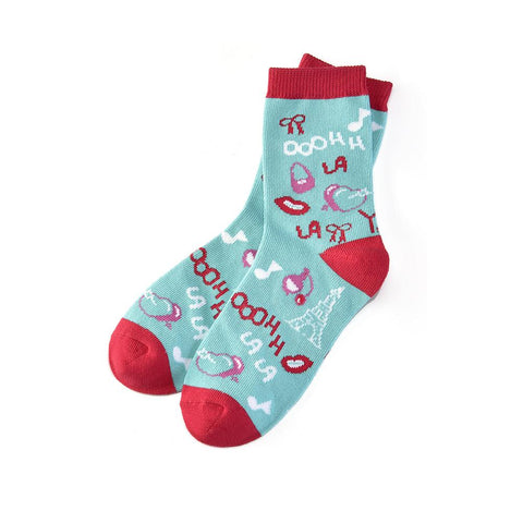 Ooohh La La: Youth Socks (Age 7-10)