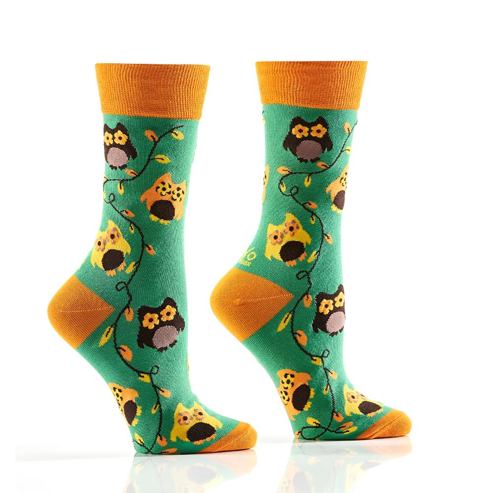 Owly: Women's Crew Socks