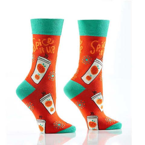 Spice it up: Women's Crew Socks