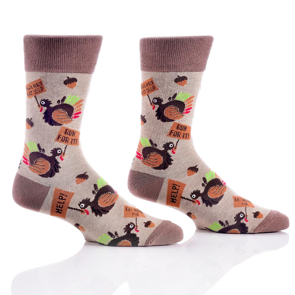 Fowl Warning: Men's Crew Socks