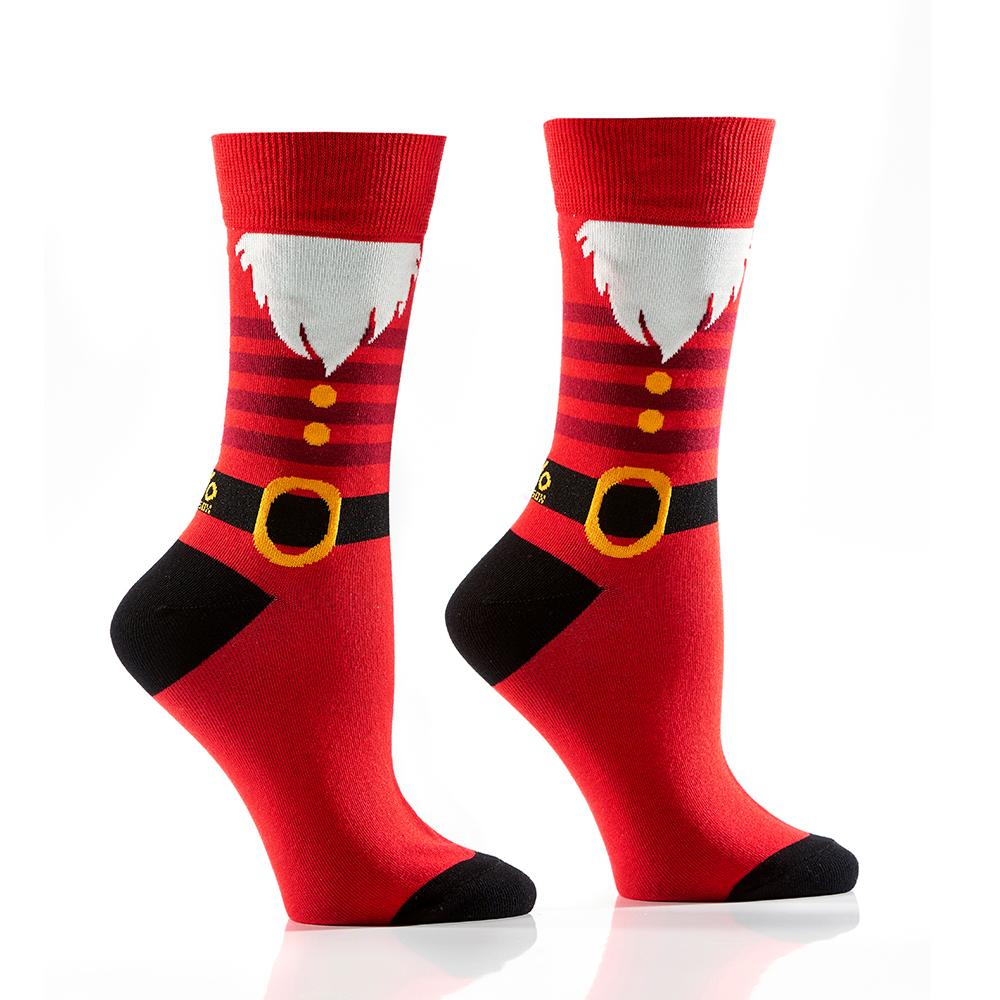 SANTA: Women's Crew Socks