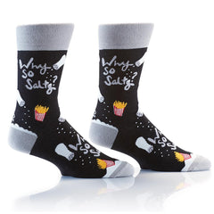 Why So Salty: Men's Crew Socks
