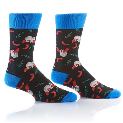 Hold The Buns: Men's Crew Socks