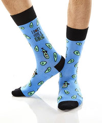 I Don't Give A Guac: Men's Crew Socks