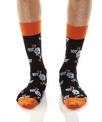 Slam Donuts: Men's Crew Socks
