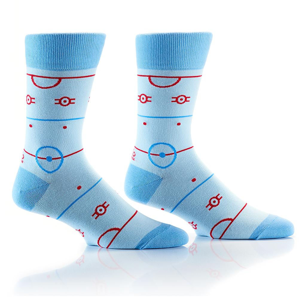 Ice Time: Men's Crew Socks