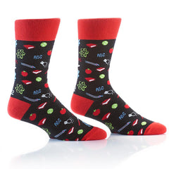 Teacher: Men's Crew Socks