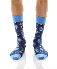 Officer: Men's Crew Socks