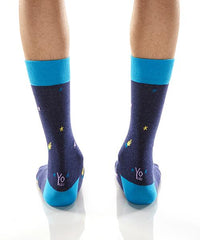 Great Balls Of Fire: Men's Crew Socks