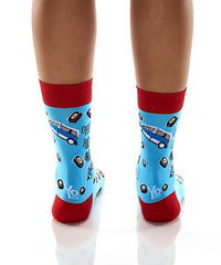 Hockey Mom: Women's Crew Socks - Yo Sox Canada