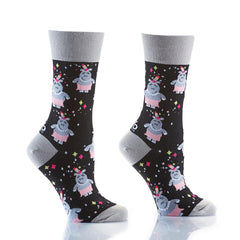 Felin Myself: Women's Crew Socks - Yo Sox Canada