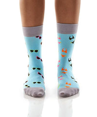 Sunglasses & Bikini's: Women's Crew Socks