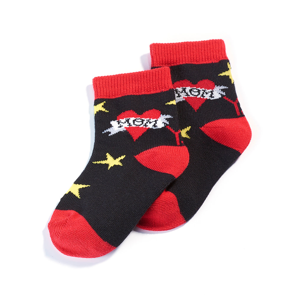 Mamma's Boy: Toddlers Socks (Age 1-2)