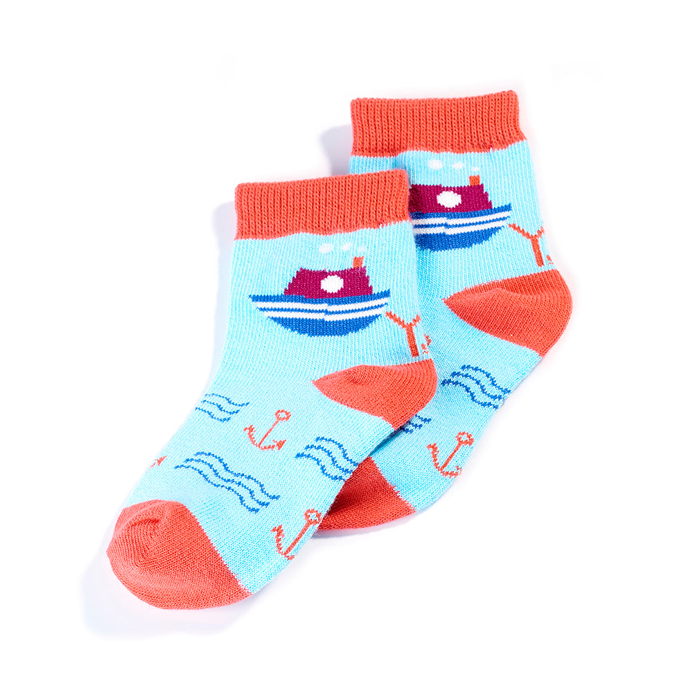 SailorMan: Toddlers Socks (Age 1-2)