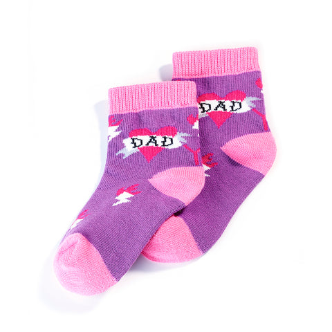 Dads Girl: Toddlers Socks (Age 1-2)