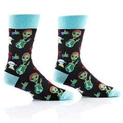 World Peace Mens Crew Sox