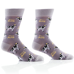 Fake Moos Mens Crew Sox