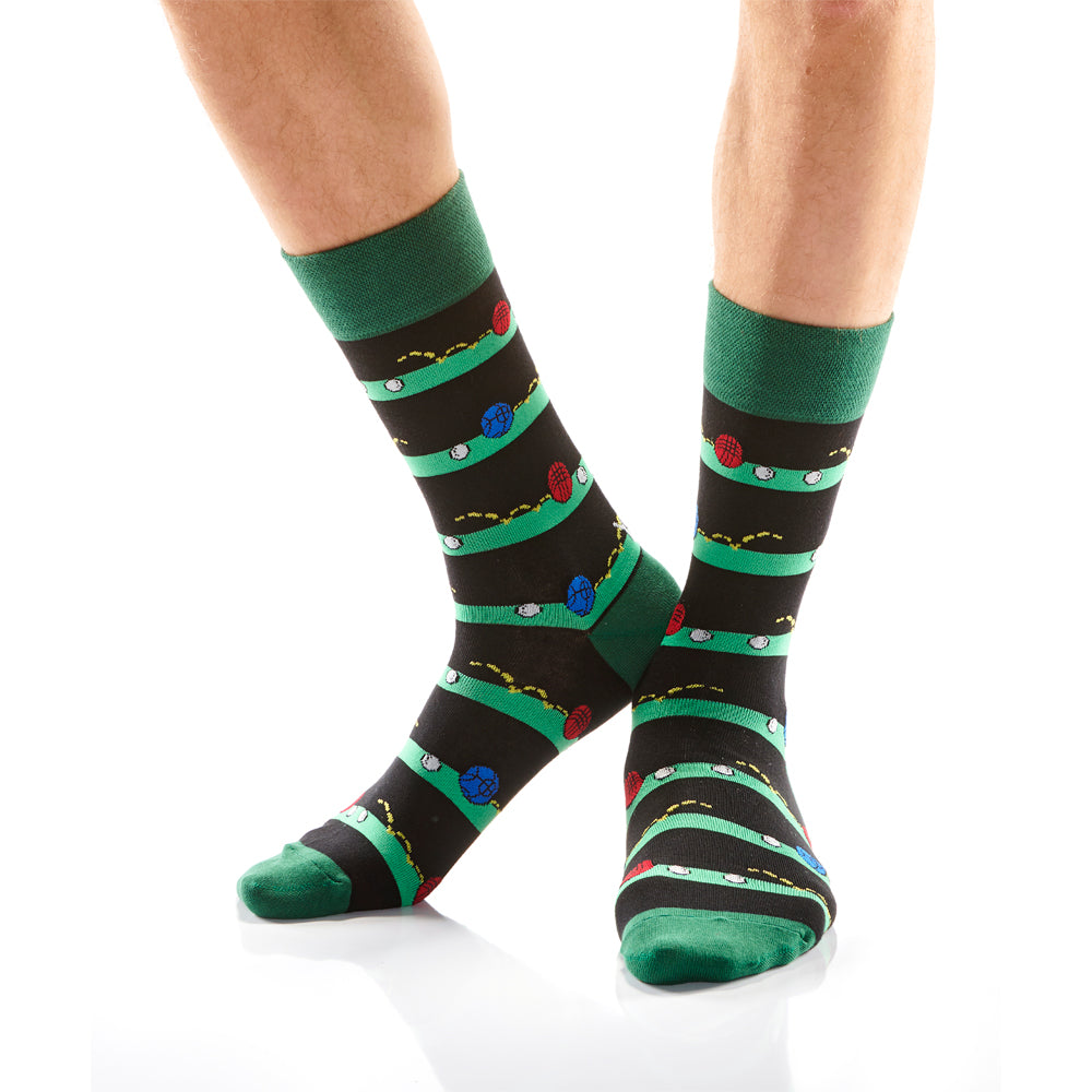 Bocce Ball Mens Crew Sox