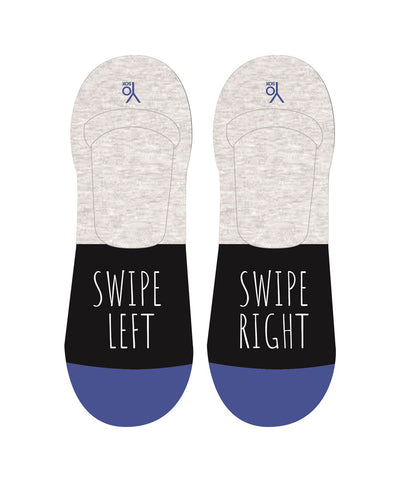 Swipe Mens No Show Sox