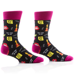 Office Party Unisex Crew Sox