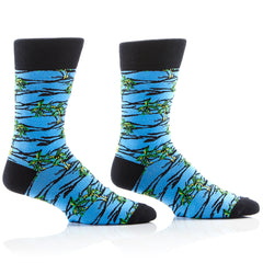 Tropical Hawaii Mens Crew Sox