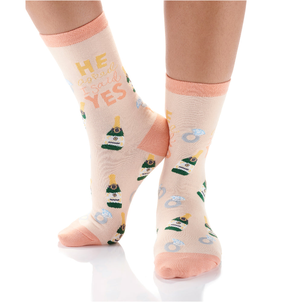Engaged Womens Crew Sox