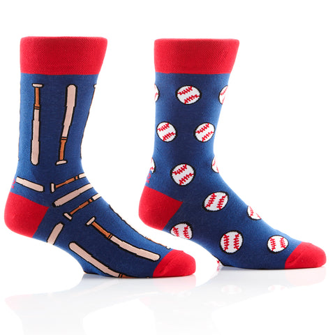 Balls and Bats Mens Crew Sox
