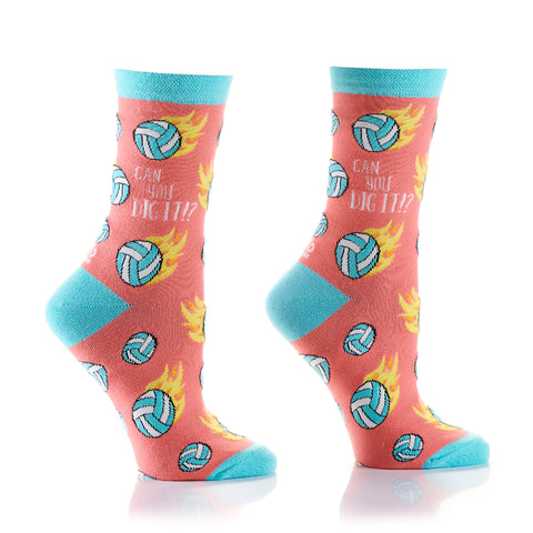 Can You Dig It Womens Crew Sox