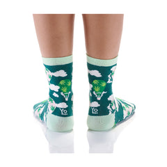 Up, Up and Away Womens Crew Sox