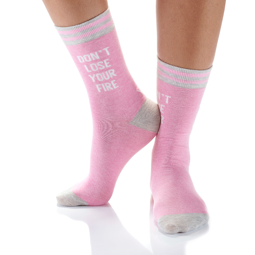 Dont Lose Yourself Womens Crew Sox