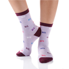 Boy Bye Womens Crew Sox