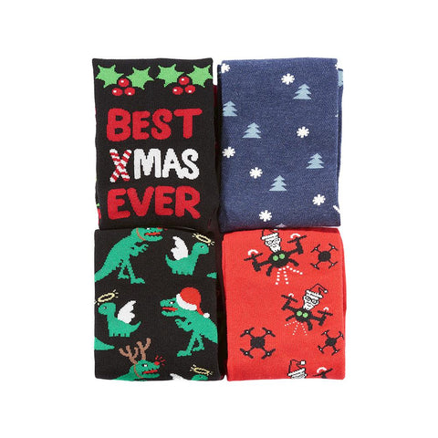 Ho Ho Ho: Men's Sock Bundle