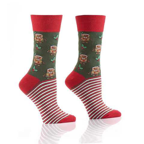 Christmas Cake: Women's Crew Socks