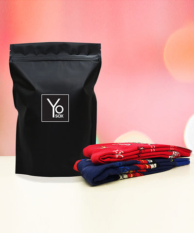 Men's 2 Pair/Month (6 Months) , Subscription - Yo Sox, USA Yo Sox - 1