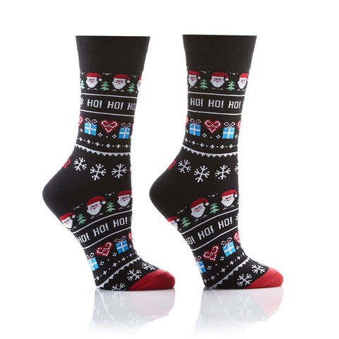 Santa's Helper: Women's Crew Socks