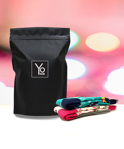 Women's 2 Pair/Month (6 Months) , Subscription - Yo Sox, USA Yo Sox - 1
