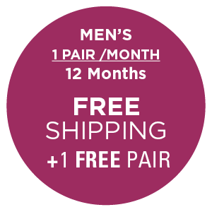 Men's 1 Pair/Month (12 Months) , Subscription - Yo Sox, USA Yo Sox - 2
