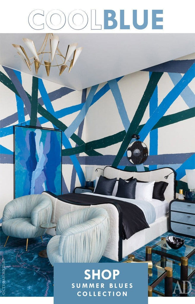 ::COOL BLUE:: Blue Home Decorating Ideas