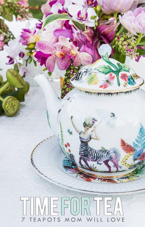 7 Stylish Teapots Mom will Love! :: Mother's Day Gift Ideas