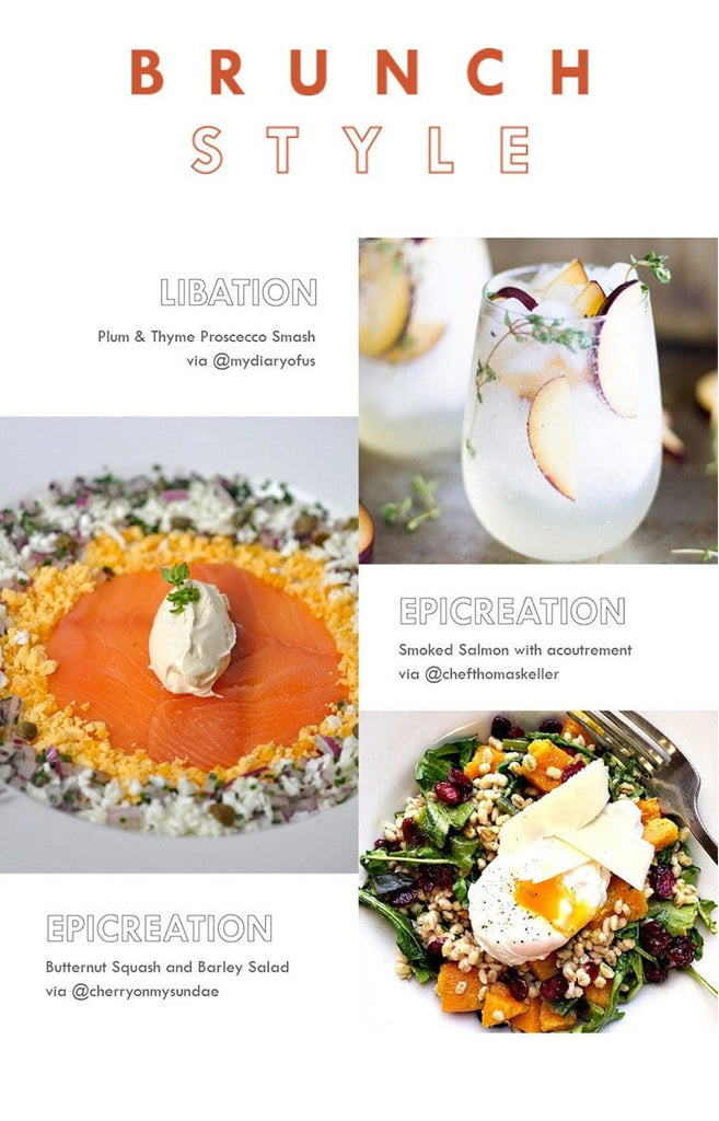 Fall Brunch Ideas
