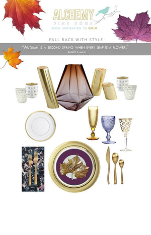 FALL BACK WITH STYLE:: FALL TABLESCAPES