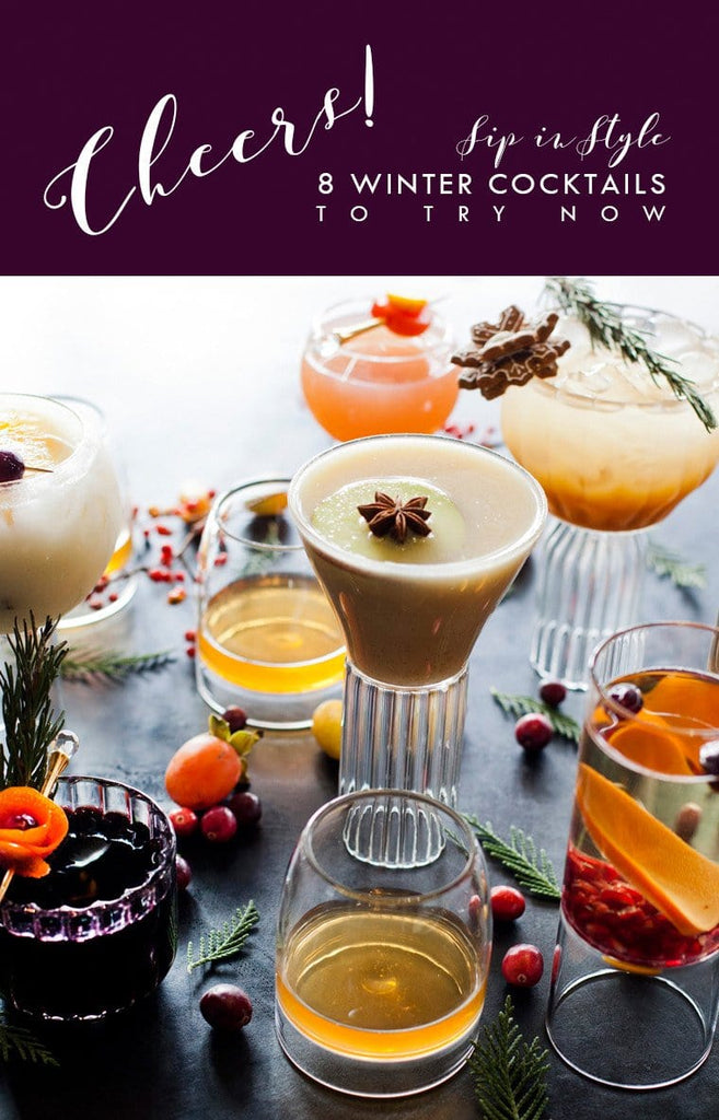 8 Holiday Winter Cocktails you must try!