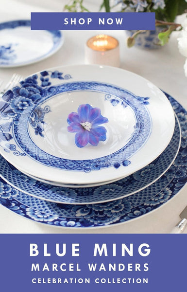 Blue Ming Dinnerware by Marcel Wanders | Celebration Collection