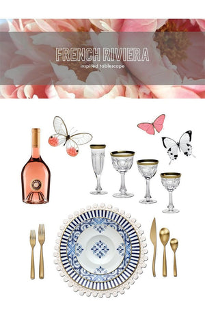 French Riviera Luxury Tablescape